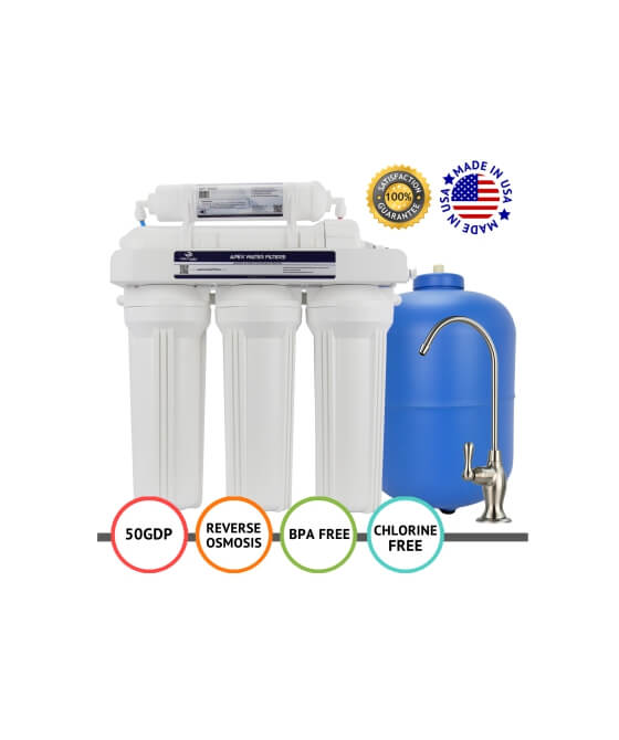 Apex Mr 5050 5 Stage Reverse Osmosis Drinking Water Filter