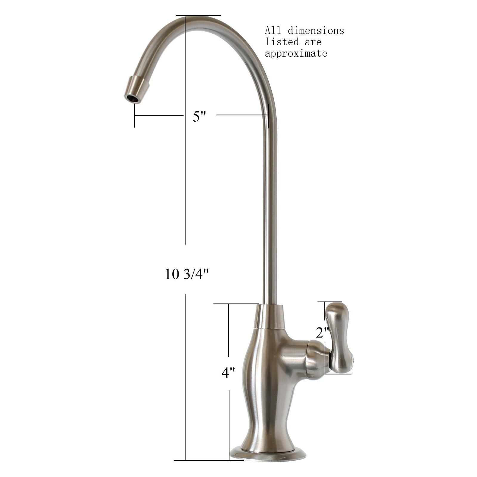 Metpure Reverse Osmosis Faucet (Brushed Nickel)