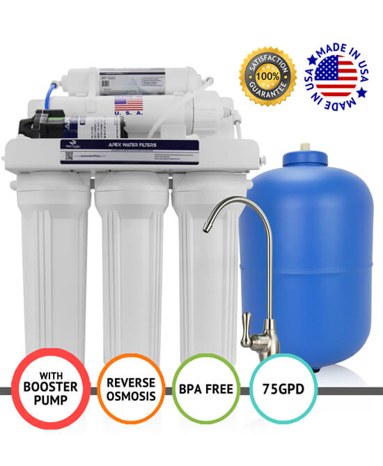 Apex Mr 5075p With Booster Pump
