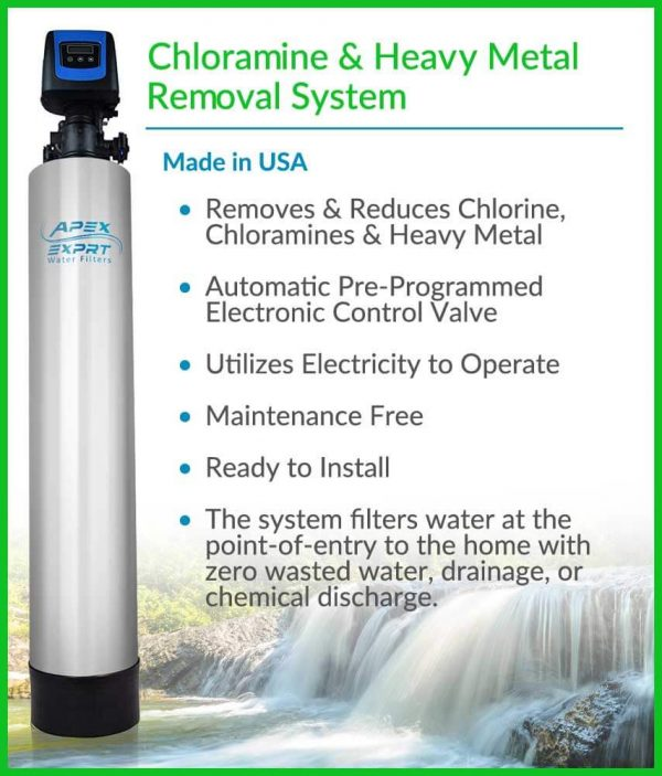 APEX WH-1010 Whole Sediment & Turbidity Water Filter System
