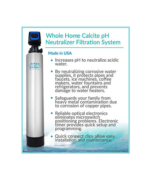 APEX Whole House Calcium Carbonate Filter System