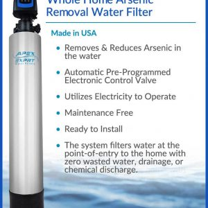 APEX WH-6010 Whole Home Arsenic Removal Water Filter