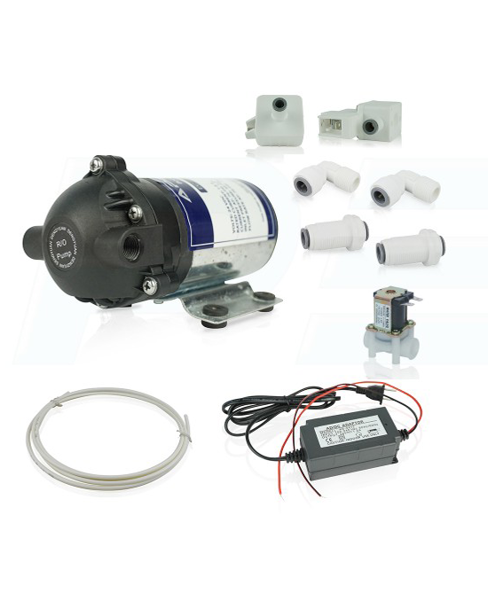 booster pump conversion kit for ro water filter systems. Black Bedroom Furniture Sets. Home Design Ideas